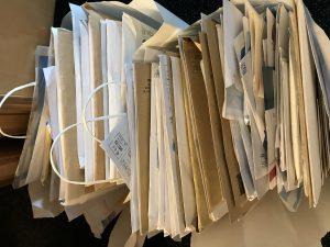 Le courrier du lundi