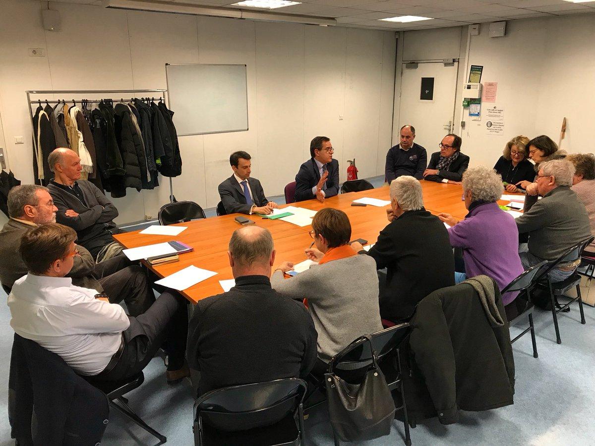 Atelier sur la fonction de député avec le Comité local En Marche de Saint-Maur